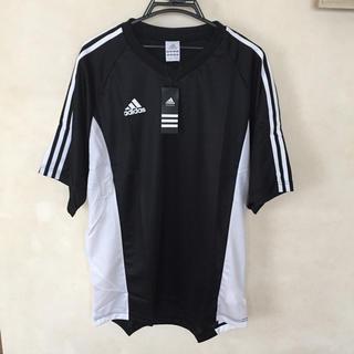 アディダス(adidas)のアディダス  Tシャツ スポーツウェア ブラック サイズ2XO (Tシャツ/カットソー(半袖/袖なし))