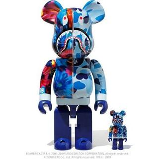 A BATHING APE - BE@RBRICK A BATHING APE x MIKA NINGAGAWA