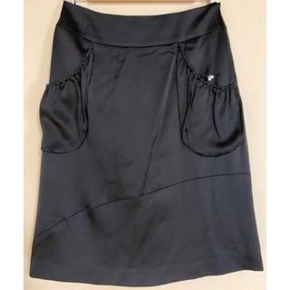ミナペルホネン(mina perhonen)のmina perhonen  ミナペルホネン  pearl シルク スカート (ひざ丈スカート)