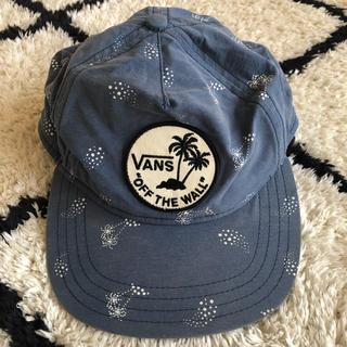 ヴァンズ(VANS)のvans キャップ サーフ レディース ブルー(キャップ)