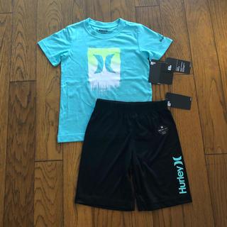 ハーレー(Hurley)の【専用】Hurley新品ボーイズ用Tシャツ&短パン セットアップ(Tシャツ/カットソー)