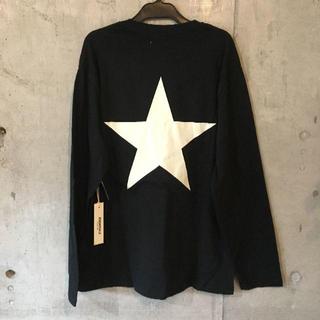 フィアオブゴッド(FEAR OF GOD)の★FOG Essentials★STAR L/S Tee ロンT ブラック[M](Tシャツ/カットソー(七分/長袖))