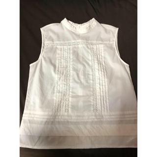 アングリッド(Ungrid)のUngrid ホワイトブラウス(シャツ/ブラウス(半袖/袖なし))