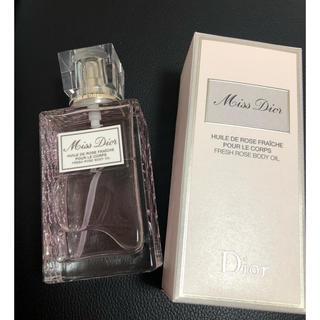 ディオール(Dior)の美品☆ミスディオール ボディオイル☆(ボディオイル)
