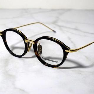 トムブラウン(THOM BROWNE)の49 鼈甲 THOM BROWNE トムブラウン サングラス 眼鏡 011(サングラス/メガネ)
