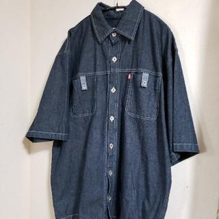 ラルフローレン(Ralph Lauren)の古着 メンズ 半袖シャツ デニムシャツ 90s ストリート DAN SPORT(シャツ)