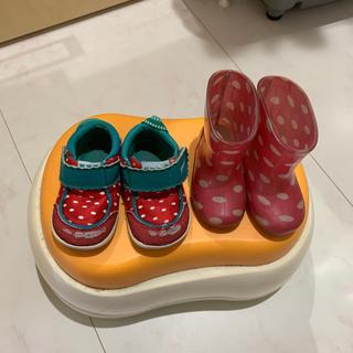 シマムラ(しまむら)の13cm 長靴 スニーカー セット(長靴/レインシューズ)