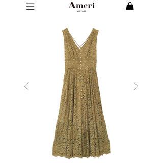 アメリヴィンテージ(Ameri VINTAGE)のAmeri vintage Back cross dress(ロングドレス)