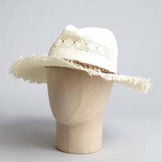エイチアンドエム(H&M)のストローハット 麦わら帽子(麦わら帽子/ストローハット)