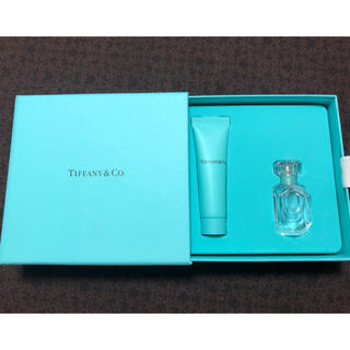 ティファニー(Tiffany & Co.)のティファニー(香水&ボディローション ミニセット)(香水(女性用))