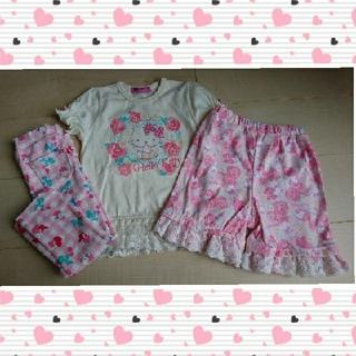 しまむら - Tシャツ&ボトムスセット☆キティちゃん☆90サイズ