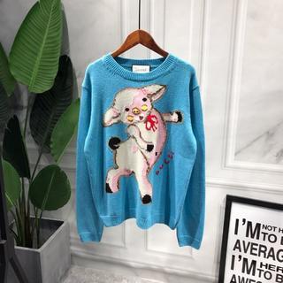 グッチ(Gucci)の19SS《GUCCI》ピグレット ウールセーター(ニット/セーター)