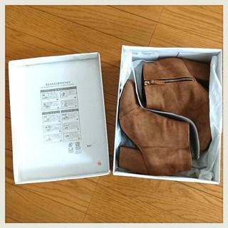 ローリーズファーム(LOWRYS FARM)の美品☆箱付☆24~24.5cm☆LOWRYS FARM☆ショートブーツ(ブーツ)