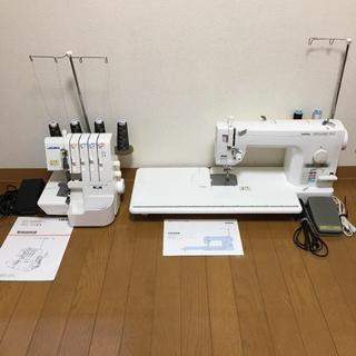 ブラザー(brother)の28万円相当!職業用本縫いミシン+オーバーロックミシン  セット売り(その他 )