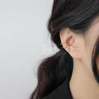 アメリヴィンテージ(Ameri VINTAGE)のThin gold earcuff No.83(イヤーカフ)