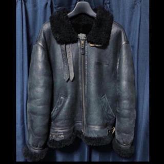 AVIREX - avirex vintage usa b3 レザームートンジャケット コート