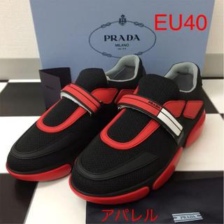 プラダ(PRADA)の新品正規品 2019SS PRADA プラダ クラウドバストスニーカー 40 赤(スニーカー)