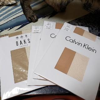 カルバンクライン(Calvin Klein)のストッキング カルバン・クライン3枚、DAKS1枚(タイツ/ストッキング)