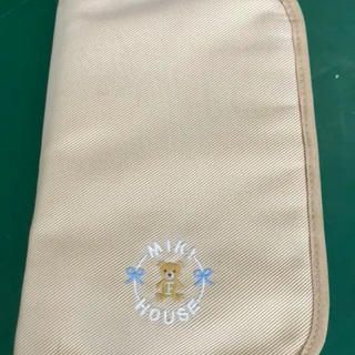ミキハウス(mikihouse)のミキハウス  母子手帳 ☆ 病院のロゴあり(母子手帳ケース)