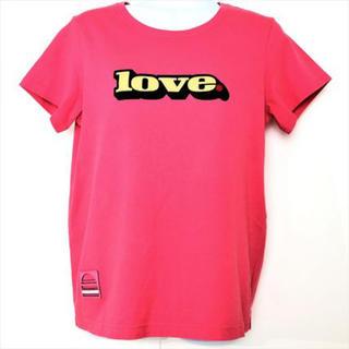 マークジェイコブス(MARC JACOBS)のマークジェイコブス Tシャツ レディース M4007445 LOVE ピンク  (Tシャツ(半袖/袖なし))
