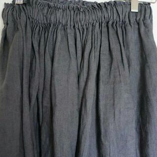 ムジルシリョウヒン(MUJI (無印良品))の無印良品 フレンチリネン スカート(ロングスカート)