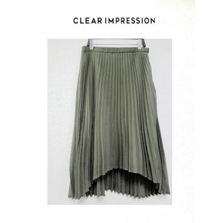 CLEAR IMPRESSION - クリアインブレッション プリーツスカート