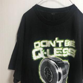 オーセンティックシューアンドコー(AUTHENTIC SHOE&Co.)のアメリカ古着!Tシャツ XL Authentic GEAR 黒 オーバーサイズ (Tシャツ/カットソー(半袖/袖なし))
