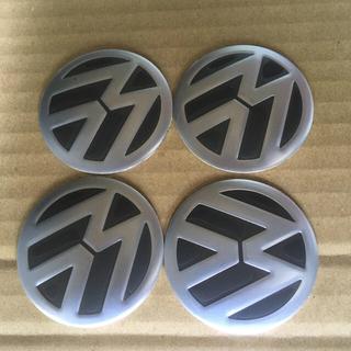 フォルクスワーゲン(Volkswagen)の■VW フォルクスワーゲン センターキャップシール4枚1台分未使用品■京都発(車種別パーツ)