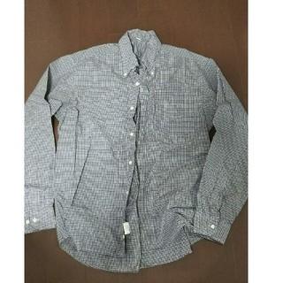 ムジルシリョウヒン(MUJI (無印良品))のチェックメンズシャツ Mサイズ(シャツ)
