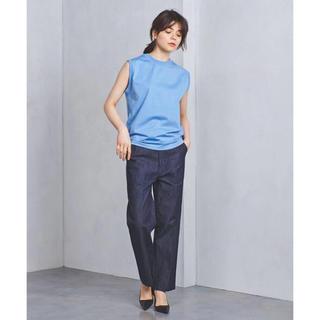 ハイク(HYKE)の新品未使用☆HYKE ノースリーブ シャツ 水色 サイズ1 ハイク(Tシャツ(半袖/袖なし))
