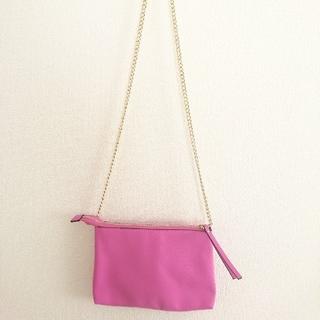 エイチアンドエム(H&M)の新品未使用 H&M ショルダーバッグ ピンク (ショルダーバッグ)