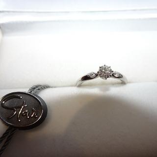 スタージュエリー(STAR JEWELRY)のSTAR JEWELRY  ダイヤモンド0.25CT PT950 リング(リング(指輪))