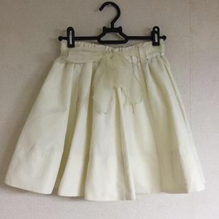 ワンアフターアナザーナイスクラップ(one after another NICE CLAUP)の【ナイスクラップ】リボン付スカート(ミニスカート)