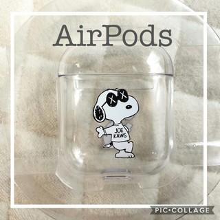 スヌーピー(SNOOPY)の新品 Airpodsケース スヌーピー(モバイルケース/カバー)