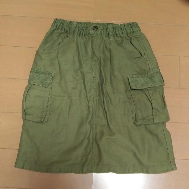 BREEZE(ブリーズ)のBREEZE GIRLS カーゴスカート130 キッズ/ベビー/マタニティのキッズ服 女の子用(90cm~)(スカート)の商品写真