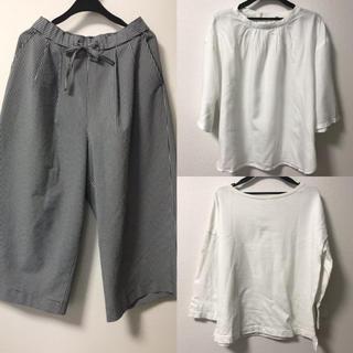 ムジルシリョウヒン(MUJI (無印良品))の無印良品 muji 3点セット(カットソー(半袖/袖なし))