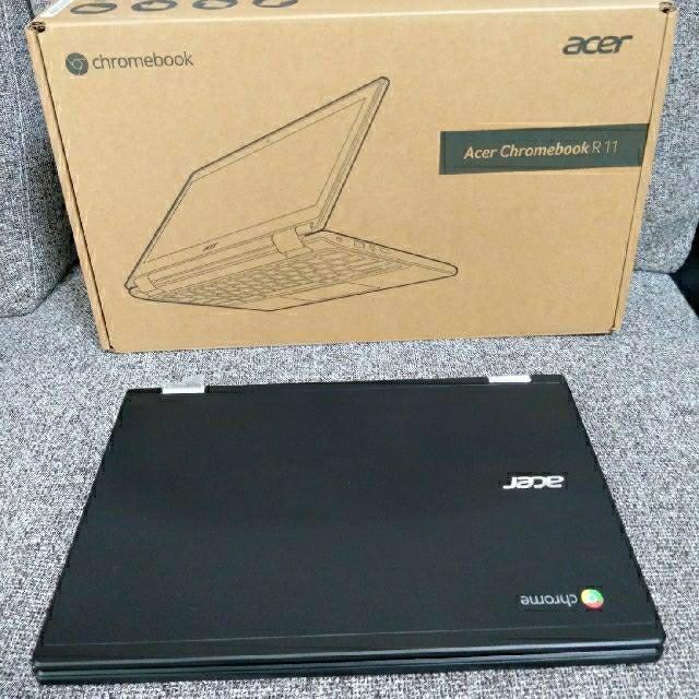 Acer(エイサー)の acer Chromebook R 11 C738T-A14N クロームブック スマホ/家電/カメラのPC/タブレット(ノートPC)の商品写真