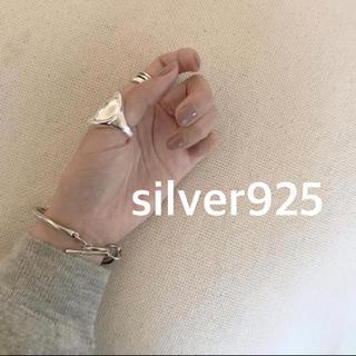 アメリヴィンテージ(Ameri VINTAGE)のシルバー925リング  丸リング ☆(リング(指輪))