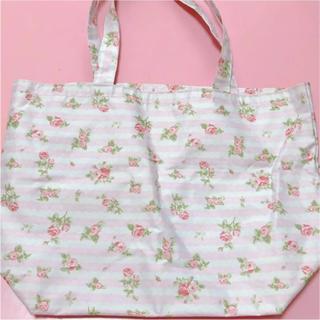 リズリサ(LIZ LISA)のLIZ LISA リズリサ エコバッグ トートバッグ 花柄 薔薇 ハンドバッグ(トートバッグ)