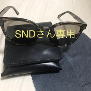 ソフ(SOPH)のSOPHNET×金子眼鏡 折りたたみ SNDさん専用(サングラス/メガネ)