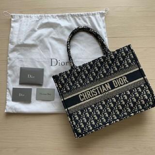 ディオール(Dior)の美品♡ ディオール dior ブックトート booktote ミニ サドルバッグ(トートバッグ)