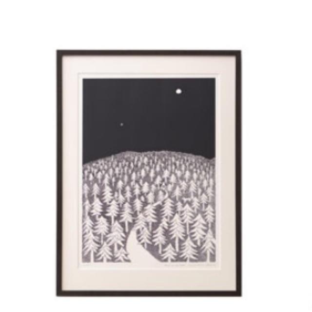 mina perhonen(ミナペルホネン)の...クリッパン×皆川明...アートポスター ミナペルホネン レディースのレディース その他(その他)の商品写真