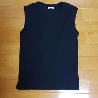 ジーユー(GU)のGUリブニット タンクトップ(シャツ/ブラウス(半袖/袖なし))