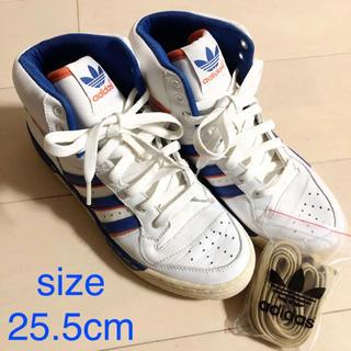 アディダス(adidas)のアディダス 希少 シューズ ハイカット 25.5cm(スニーカー)