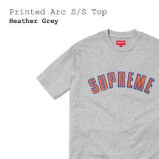 シュプリーム(Supreme)のSupreme Printed Arc S/S Top(Tシャツ/カットソー(半袖/袖なし))