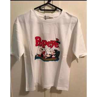 リリーブラウン(Lily Brown)のLily Brown(リリーブラウン) POPEYE Tシャツ(Tシャツ(半袖/袖なし))