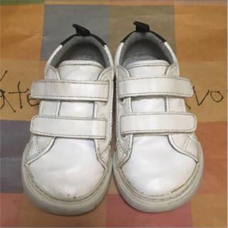 ベビーギャップ(babyGAP)のベビーキッズ靴★ベビーギャップベルクロスニーカー14cm(スニーカー)