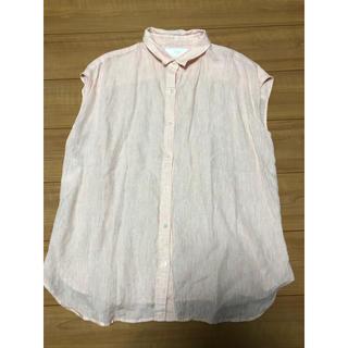 ニジュウサンク(23区)の23区 サイズ46 LIBECO シャツ 大きいサイズ(シャツ/ブラウス(半袖/袖なし))