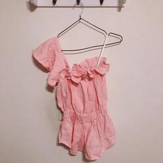 リリーブラウン(Lily Brown)のイズリリー Tシャツ タンクトップ(Tシャツ(半袖/袖なし))