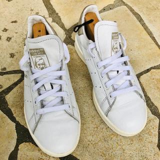 アディダス(adidas)のアディダスオリジナルズ スタンスミス 23.0cm グレー(スニーカー)